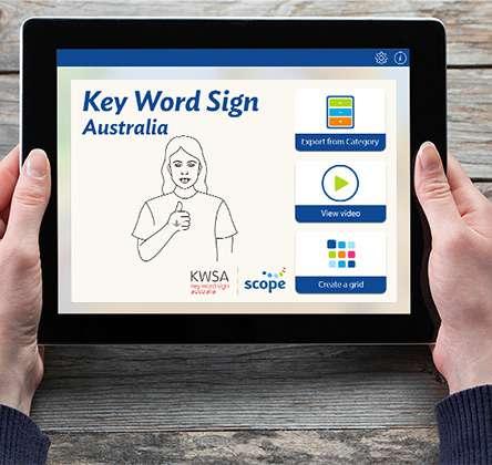 Key word sign australia