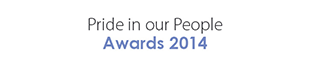 Pride In Our People Awards 2014