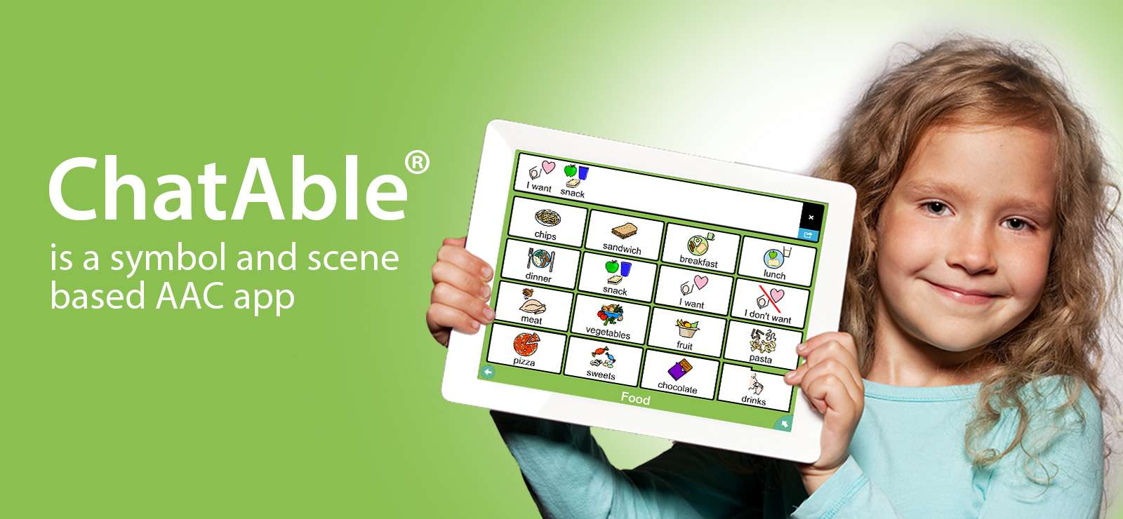 Chatable® app for autism and aphasia
