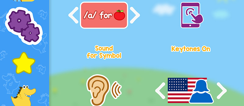 use sounds for typing