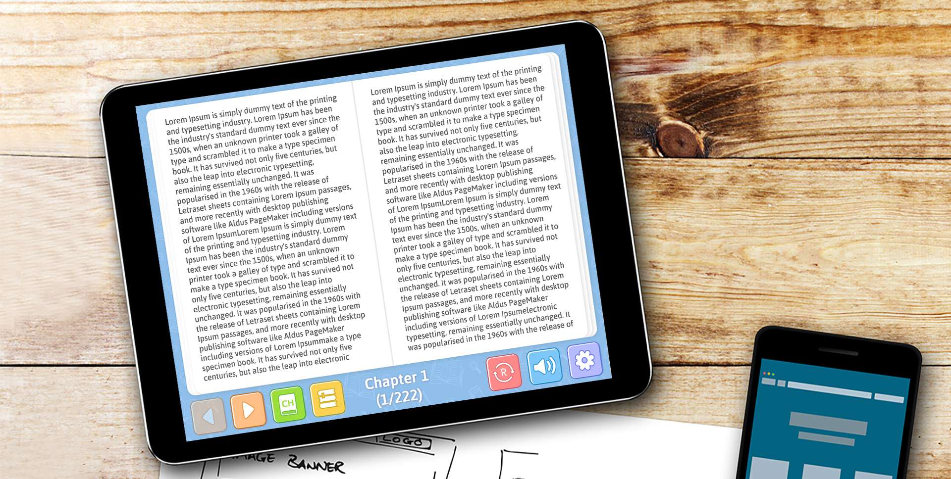 Adobe Switch Accessible eBook Reader