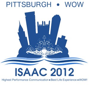 Live from ISAAC 2012!