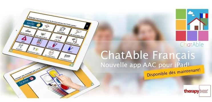 ChatAble est disponible en Français!