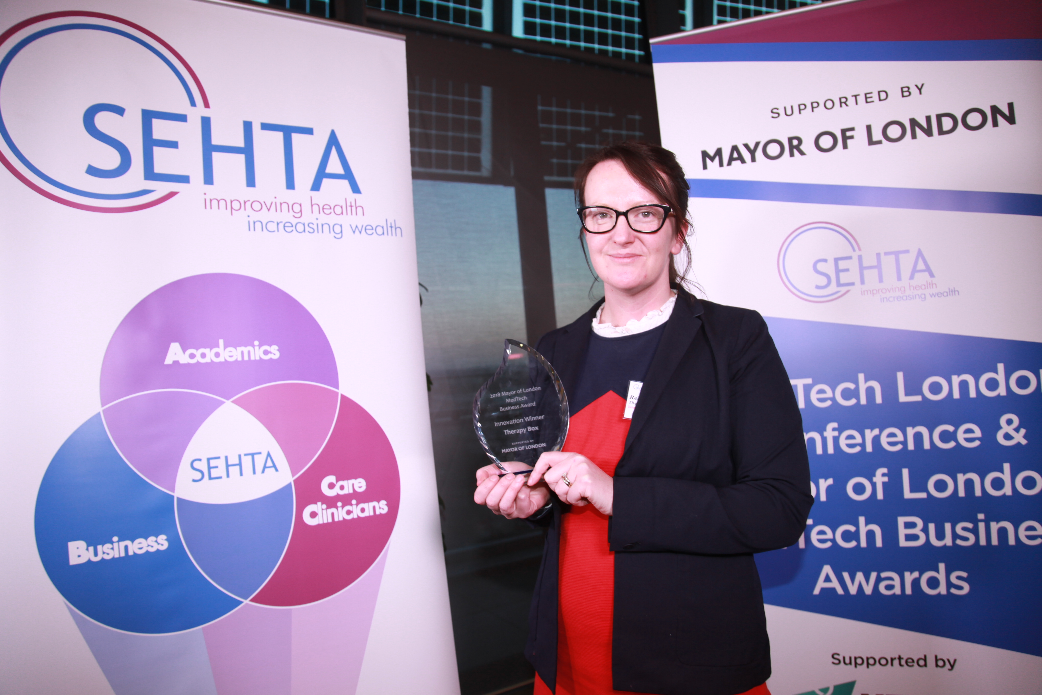 Therapy Box win at the Mayor of London Awards