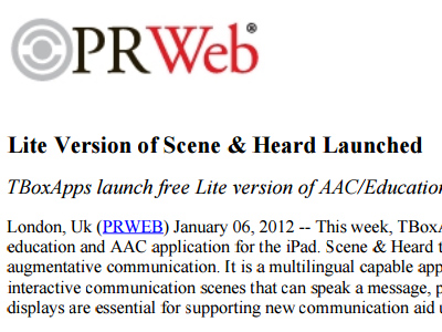 Lite Version of Scene & Heard Launched