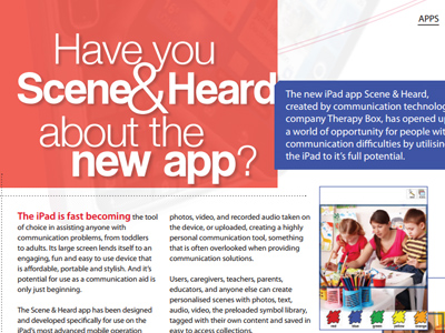 Have you Scene& Heard about the new app?